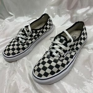 Vans Checkered Shoes